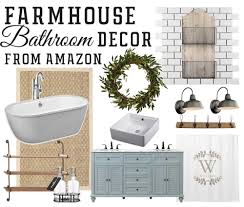 amazon farmhouse inspired bathroom finds u2014 the mountain view cottage