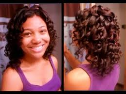 easy curling wand for permed hair wand curls on my relaxed hair jerome russell hair color youtube
