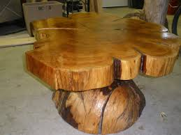 Cedar Table Top by Chairs