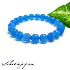 blue stone bracelet images Select a japan blue agate 8 mm bracelet stone natural stone jpg