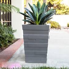 modern planter boxes outdoor lightweight large planters unlimited
