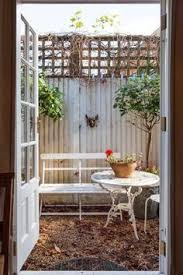Our Favorite Outdoor Rooms - sofia u0027s diy garden apartment in brooklyn gardens diy and crafts