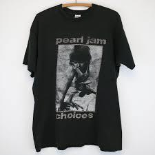 pearl jam choices shirt 1992 wyco vintage