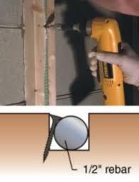 stabilizing a concrete block foundation wall epoxyworks