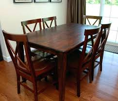 how to refinish veneer table refinishing dining table without sanding venkatweetz me