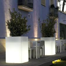 lighted outdoor planters big lots solar lighted lamp post with