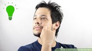 how to blend a lads a hair 5 ways to add volume to hair for men wikihow