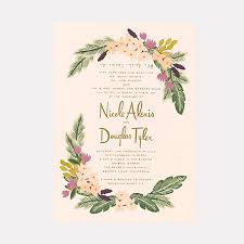 wedding invitations paper 25 creative wedding invitation designs for every style of