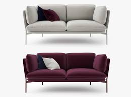 Two Seaters Sofa 3d Model And Tradition Cloud Two Seater Sofa Cgtrader