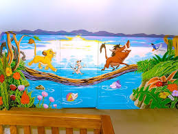 10 best lion king mural in nursery images on pinterest lions