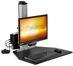 Standing Desk Kangaroo Electric Kangaroo Pro Standing Desk Single Monitor U2013 Ergoist