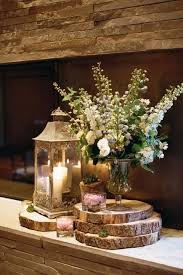 lantern centerpieces for weddings 46 beautiful ways to decorate your wedding with wood slices