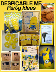 minion party pinkie for pink despicable me minion party ideas