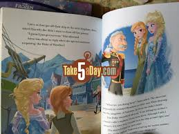 disney books contest frozen kids