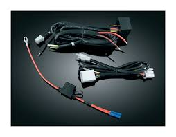 kuryakyn trailer wire harness and relay for harley 1996 2013