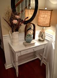 Hall Table Decor Best 25 Small Entryway Tables Ideas On Pinterest Small Entryway