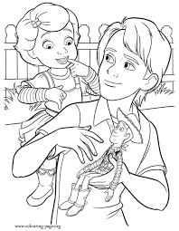 draw toy story kids coloring