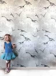 illustrated seagull wallpaper