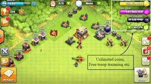 game mod coc apk terbaru clash of clans mod apk download get unlimited gems and coins latest