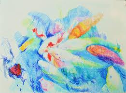 drawing of koi fish u2013 aletha kuschan u0027s weblog