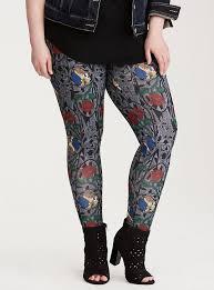 disney beauty beast stained glass print leggings torrid