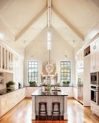 Kitchens With Track Lighting by Vaulted Ceilings 101 History Pros U0026 Cons And Inspirational