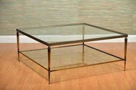 brass coffee table with glass top u2013 mcclanmuse co