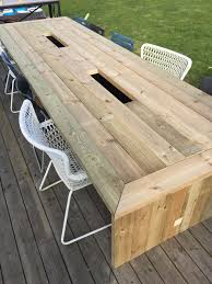 Diy Patio Table Top Outdoor Wooden Outdoor Table Designs Diy Outdoor Patio Table Diy