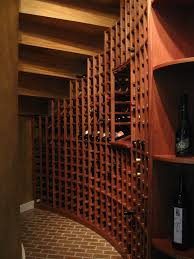 wine cellar under curved staircase kessick wine cellars wine