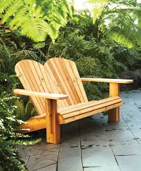 How To Build Outdoor Wood Chairs by Diy Double Adirondack Chair Plans How To Make A Loveseat