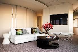 Modern Apartment Interior Design In Warm And Glamour Style DigsDigs - Warm interior design ideas