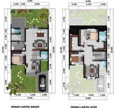 design interior rumah petak desain rumah type 45 minimalis 1 lantai dan 2 lantai