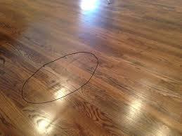flooring chatter marks flaws are into the hardwood flooring