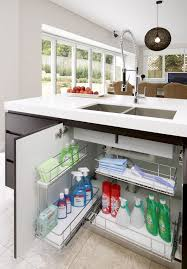 tansel kitchen storage under sink pull out wire baskets kitchen