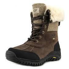 ugg australia s beige adirondack boots ugg australia adirondack ii toe leather brown winter