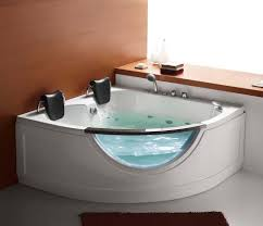 Jacuzzi Tub Steam Planet Mg015 59 In Two Person Corner Whirlpool Tub Hayneedle