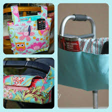Armchair Sewing Caddy Pattern Walker Or Wheelchair Mobility Caddies And Bags Sewing Project