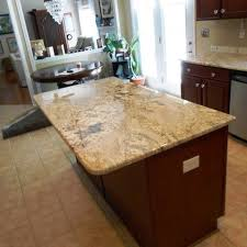 Kitchen Island Granite Countertop Kitchen Beautiful Granite Countertop On Wooden Wardrobe