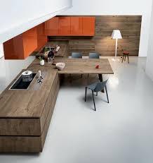 table cuisine plan de travail plan de travail en bois lequel choisir inspiration cuisine