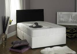 small crystal bedroom ls 4ft 6in double divan bed with 1000 pocket sprung mattress