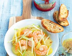 cuisine crevette recette cuisine salade de crevettes dimanche