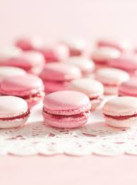 pink strawberry french macarons ricardo