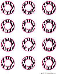 free pink zebra birthday party food cards printables u0026 cupcake