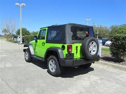 lime green jeep wrangler 2012 for sale 2012 jeep wrangler sport 4x4 green review gecko green eye