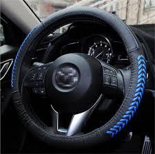 mazda steering wheel amazon com vesul steering wheel glove leather cover for mazda cx