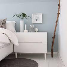 gemütliche innenarchitektur schlafzimmer modern wand blau wohnen