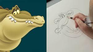 draw louis princess frog disney insider