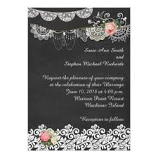 shabby chic wedding invitations shabbychic invitations announcements zazzle