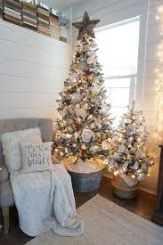 small decorative trees for mantle decor
