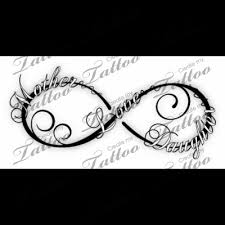 mother daughter tattoos infinity google search tattoo ideas